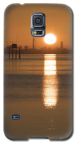 Sunrise Over Portsmouth Galaxy S5 Case
