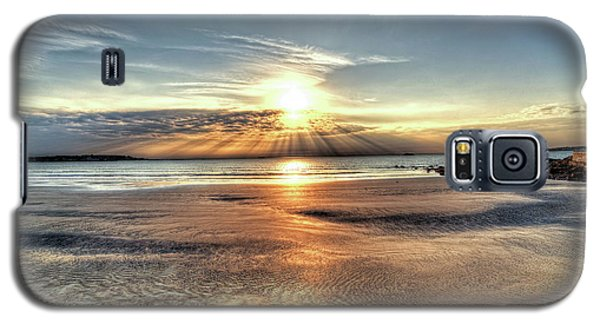 Sunrise Over Red Rock Park Lynn Ma Kings Beach Galaxy S5 Case