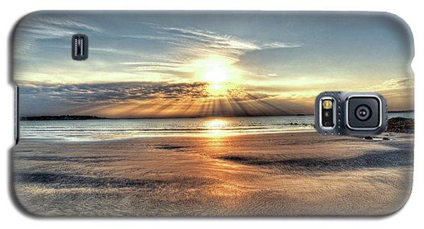 Sunrise Over Red Rock Park Lynn Ma Kings Beach Galaxy S5 Case