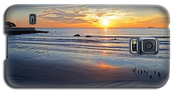 Sunrise Over Red Rock Park Lynn Shore Drive Galaxy S5 Case