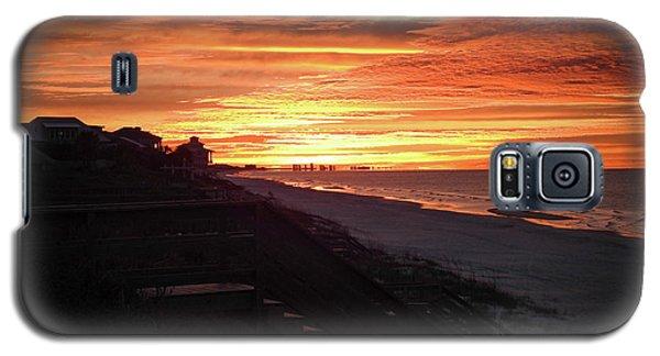 Sunrise Over Santa Rosa Beach Galaxy S5 Case