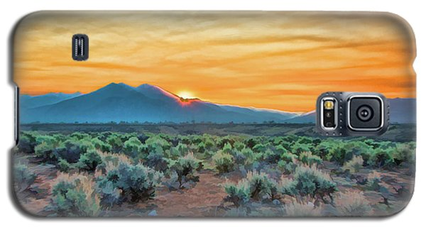 Sunrise Over Taos Galaxy S5 Case