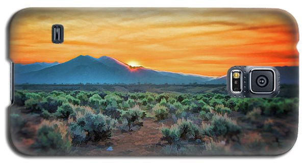 Sunrise Over Taos II Galaxy S5 Case