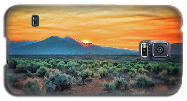Sunrise Over Taos II Galaxy S5 Case