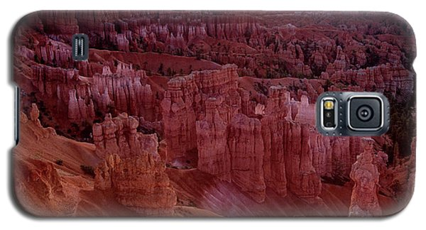 Sunrise Over The Hoodoos Bryce Canyon National Park Galaxy S5 Case