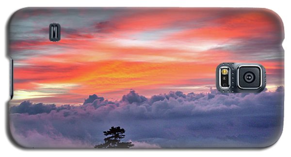 Galaxy S5 Case featuring the photograph Sunrise Over The Smoky's II by Douglas Stucky
