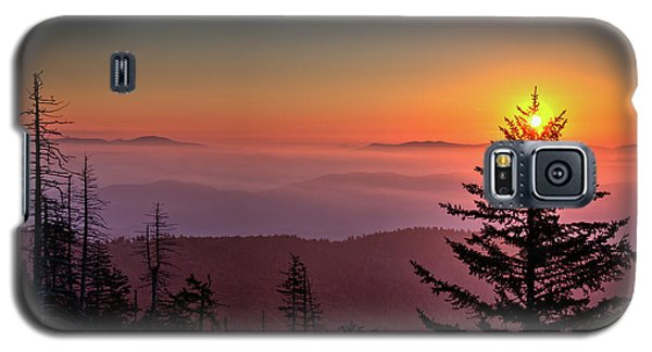Galaxy S5 Case featuring the photograph Sunrise Over The Smoky's IIi by Douglas Stucky