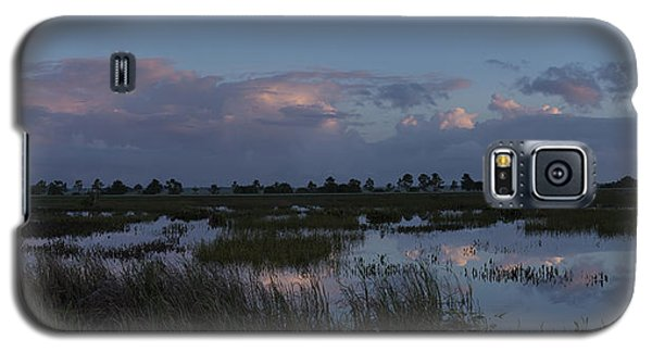 Sunrise Over The Wetlands Galaxy S5 Case