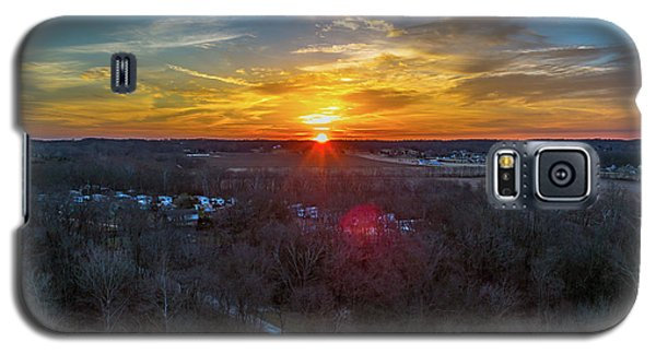 Sunrise Over The Woods Galaxy S5 Case