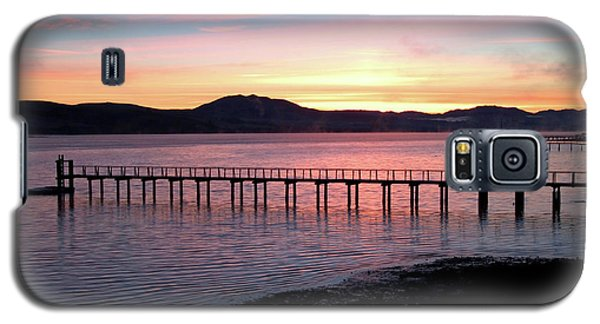 Sunrise Over Tomales Bay Galaxy S5 Case