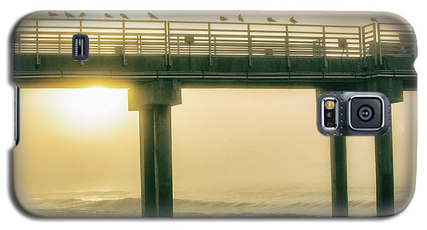 Galaxy S5 Case featuring the photograph Sunrise Pier In Alabama  by John McGraw