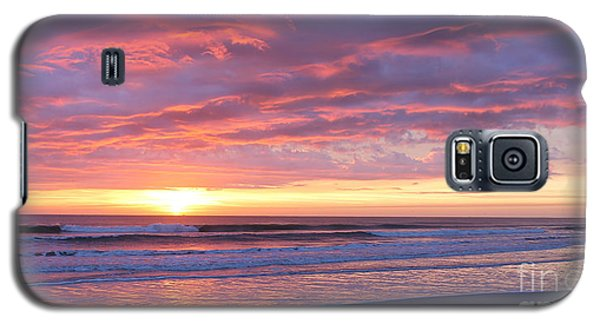 Sunrise Pinks Galaxy S5 Case by LeeAnn Kendall