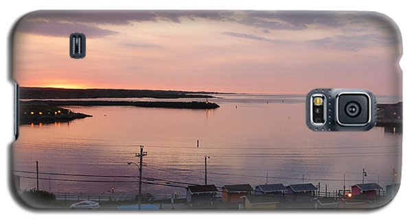 Sunrise Port Aux Basque, Newfoundland  Galaxy S5 Case by Joel Deutsch