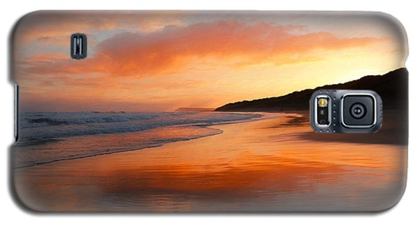 Galaxy S5 Case featuring the photograph Sunrise Reflection by Roy McPeak