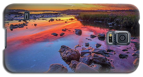 Sunrise Reflections In Harpswell Galaxy S5 Case