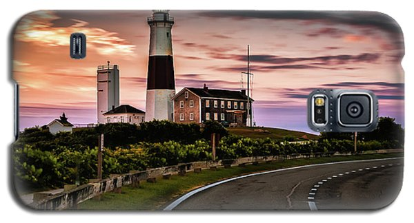 Sunrise Road To The Montauk Lighthous Galaxy S5 Case