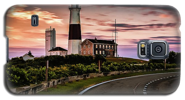 Sunrise Road To The Montauk Lighthous Galaxy S5 Case
