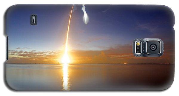 Sunrise Rocket Galaxy S5 Case