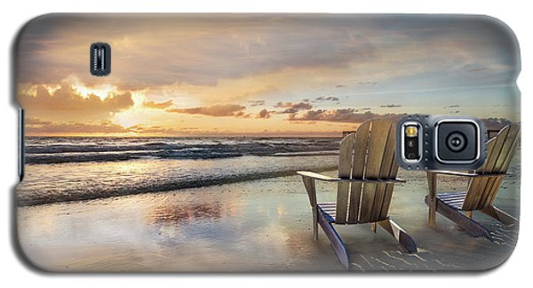 Galaxy S5 Case featuring the photograph Sunrise Romance by Debra and Dave Vanderlaan