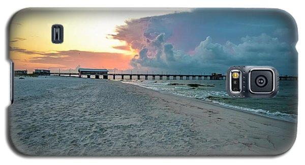 Sunrise Seascape Gulf Shores Al Pier 064a Galaxy S5 Case