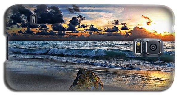 Sunrise Seascape Wisdom Beach Florida C3 Galaxy S5 Case