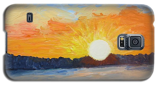 Sunrise At Pine Point Galaxy S5 Case