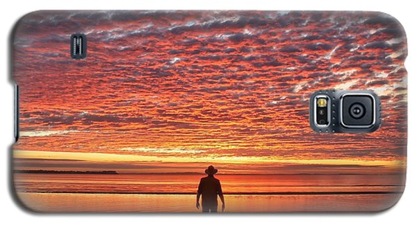 Sunrise Silhouette Galaxy S5 Case