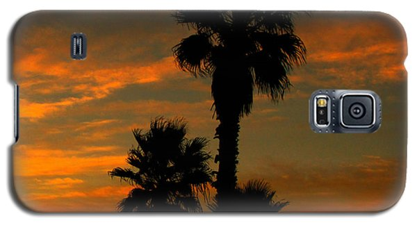 Sunrise Silhouettes Galaxy S5 Case by Janice Westerberg