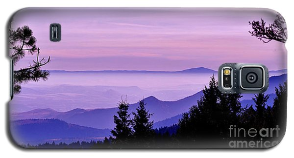 Sunrise Silhouettes Galaxy S5 Case