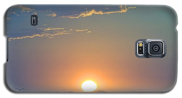 Galaxy S5 Case featuring the photograph Sunrise Sky by  Newwwman