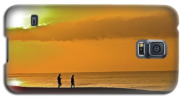 Sunrise Stroll Galaxy S5 Case