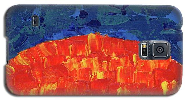 Sunrise Sunset 5 Galaxy S5 Case