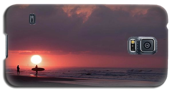 Sunrise Surfer Galaxy S5 Case