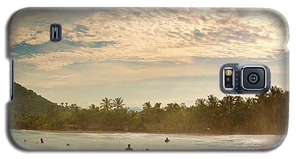 Sunrise Surfers Galaxy S5 Case
