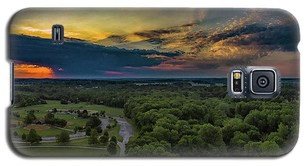 Sunrise Thru The Clouds Galaxy S5 Case