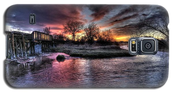 Sunrise Trestle #1 Galaxy S5 Case