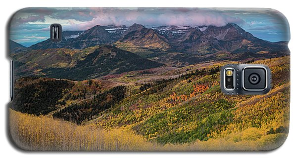 Sunrise View Of Mount Timpanogos Galaxy S5 Case