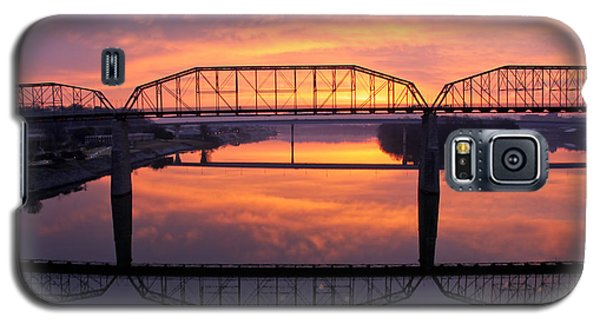 Sunrise Walnut Street Bridge 2 Galaxy S5 Case