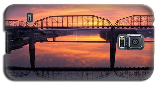 Sunrise Walnut Street Bridge 2 Galaxy S5 Case