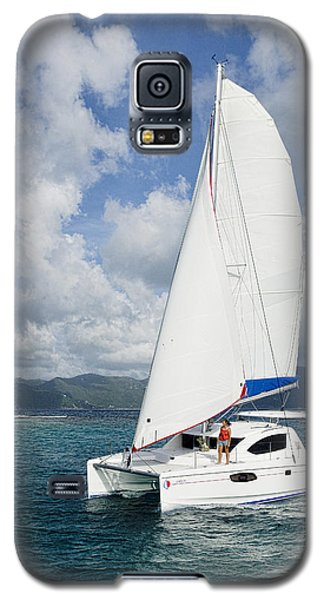 Sunsail Catamaran Galaxy S5 Case