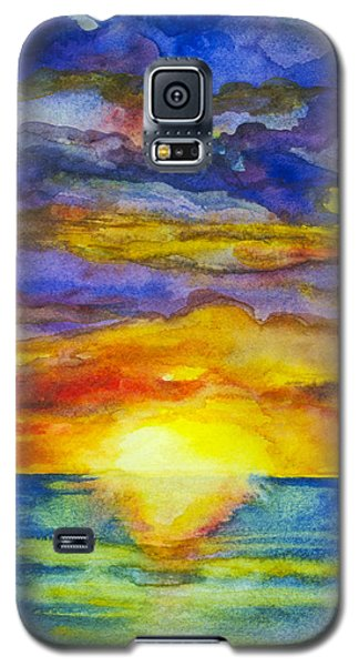 Sunset 1 Galaxy S5 Case by Suzette Kallen