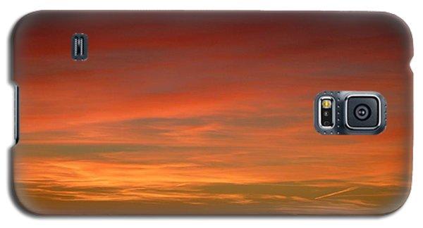 Sunset 4 Galaxy S5 Case