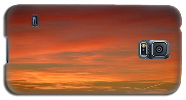 Sunset 4 Galaxy S5 Case
