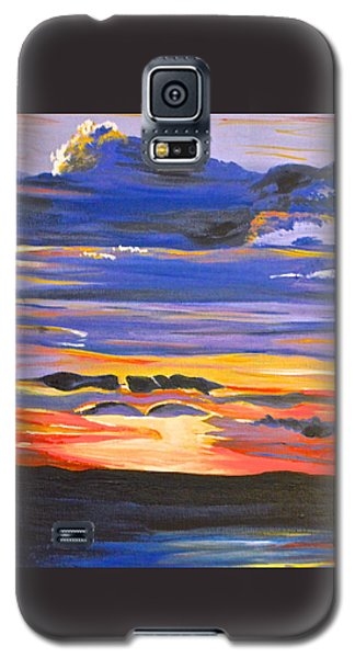 Sunset #5 Galaxy S5 Case by Donna Blossom