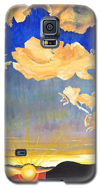 Sunset #6 Galaxy S5 Case by Donna Blossom