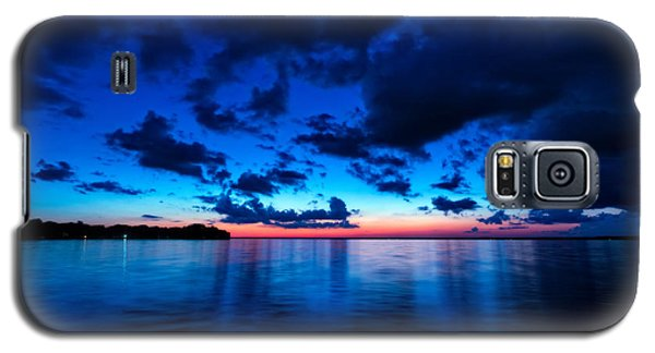 Galaxy S5 Case featuring the photograph Sunset After Glow by Christopher Holmes