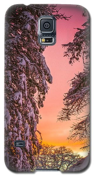 Sunset After Snow Galaxy S5 Case