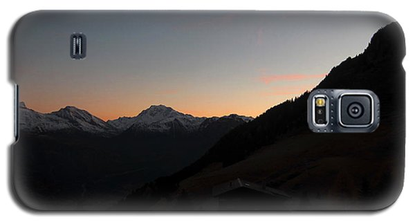 Sunset Afterglow In The Mountains Galaxy S5 Case by Ernst Dittmar