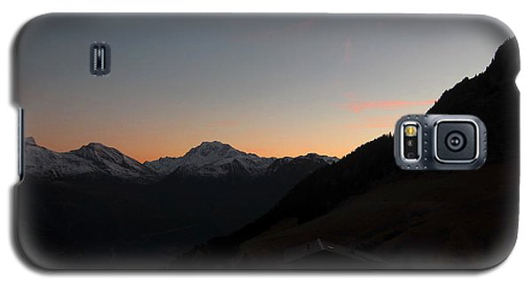 Sunset Afterglow In The Mountains Galaxy S5 Case