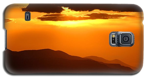 Galaxy S5 Case featuring the photograph Sunset Along Colorado Foothills by Max Allen